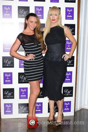 Michelle Heaton and Liz Mcclarnon