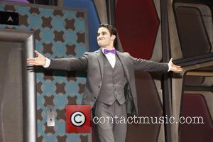 Darren Criss, Al Hirschfeld and Glee