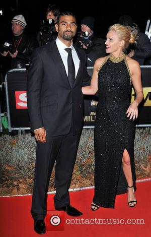 David Haye and Ashley Roberts Night of Heroes: The Sun Military Awards held at the Imperial War Museum - Arrivals...