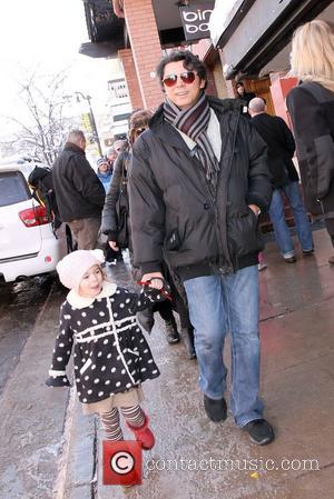Lou Diamond Phillips and his daughter  Celebrities attending the 2011 Sundance Film Festival - Day 4 Park City, Utah...