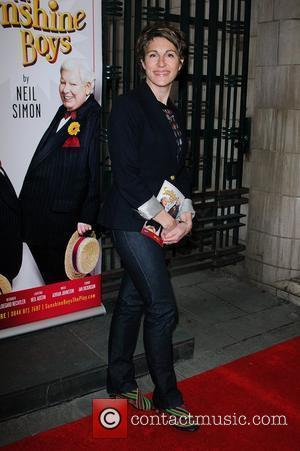 Tamsin Greig The Sunshine Boys opening night at the Savoy Theatre. London, England. 17.05.12