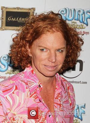 Carrot Top  SURF The Musical Songs of The Beach Boys opening night at Planet Hollywood Resort and Casino...
