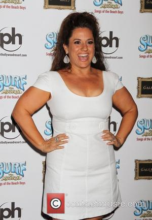 Marissa Jaret Winokur  SURF The Musical Songs of The Beach Boys opening night at Planet Hollywood Resort and Casino...