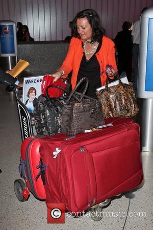 Susan Boyle's, Los Angeles International Airport, British Airways Flight, London and Las Vegas