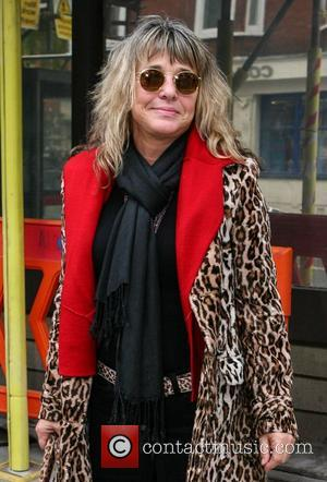 Suzi Quatro out and about on Great Portland Street London, England - 09.11.12