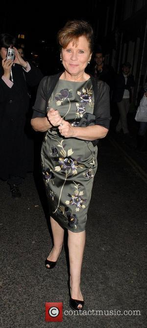 Imelda Staunton,  at the 'Sweeney Todd' Press Night at the Adelphi Theatre. London, England - 20.03.12