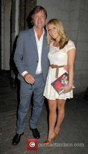 Richard Madeley and Chloe Madeley ,  at the 'Sweeney Todd' Press Night at the Adelphi Theatre. London, England -...