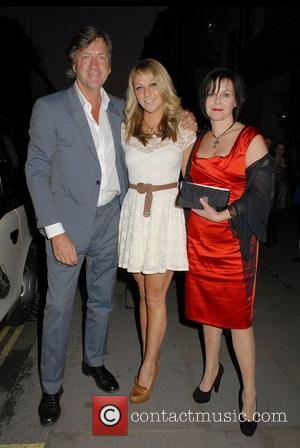 Richard Madeley and Chloe Madeley ,  at the 'Sweeney Todd' Press Night at the Adelphi Theatre - Outside Arrivals...