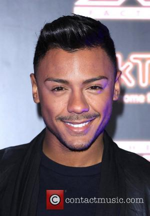 Marcus Collins X Factor contestants perform at TalkTalk's secret gig - photocall London, England - 30.11.11