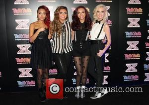 Jesy Nelson, Perrie Edwards, Leigh-Anne Pinnock, Jade Thirlwall of Little Mix X Factor contestants perform at TalkTalk's secret gig -...