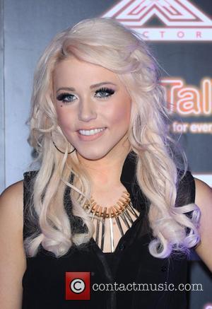Amelia Lilly X Factor contestants perform at TalkTalk's secret gig - photocall London, England - 30.11.11