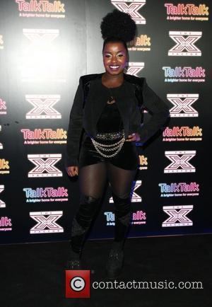 Misha B X Factor contestants perform at TalkTalk's secret gig - photocall London, England - 30.11.11