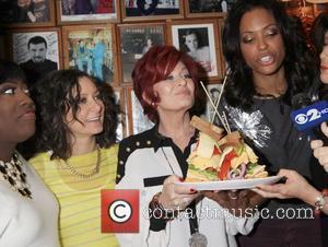 Sara Gilbert, Aisha Tyler and Sharon Osbourne
