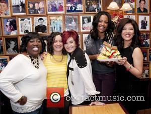 Sara Gilbert, Aisha Tyler, Julie Chen and Sharon Osbourne