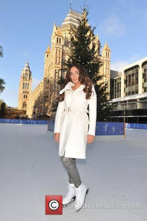 Tamara Ecclestone launches the Natural History Museum Ice Rink - Photo Call. London, England - 07.11.12