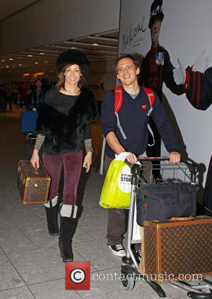 Tara Palmer-tomkinson, Heathrow Airport and Louis Vuitton