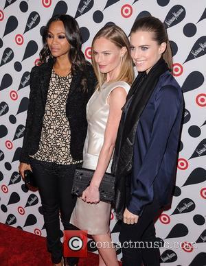 Zoe Saldana, Kate Bosworth and Allison Williams