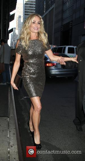 Taylor Armstrong  leaving the 'London Hotel' in New York City New York, USA - 01.05.12