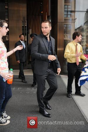 Taylor Kitsch and Manhattan Hotel