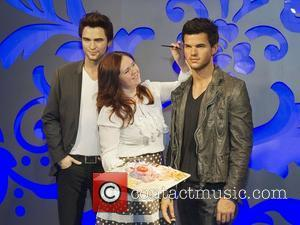 Taylor Lautner, Madame Tussauds and Robert Pattinson