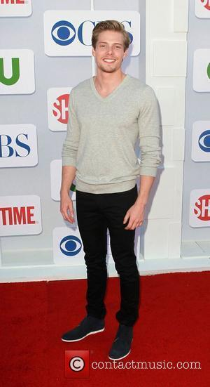 Hunter Parrish and Beverly Hilton Hotel