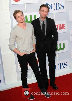 Hunter Parrish, Justin Kirk and Beverly Hilton Hotel