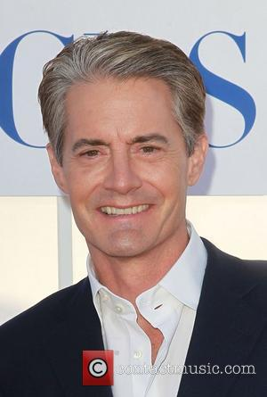 Kyle Maclachlan and Beverly Hilton Hotel