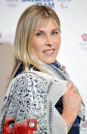 Sharron Davies An exclusive unveiling of the Team GB and Paralympics GB supporters item at the Saatchi Gallery. London, England...