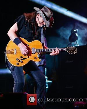 Ted Nugent  performing at the 2012 Republic of Texas Biker Rally held at the Travis County Expo Center...