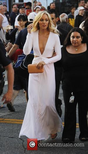 Laura Vandervoort  The Los Angeles Premiere 'Ted' at Grauman's Chinese Theatre - Outside Arrivals Los Angeles, California - 21.06.12