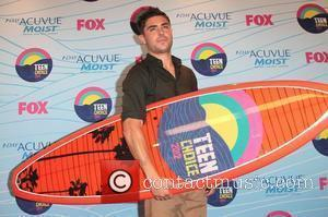 Zac Efron and Gibson Amphitheatre