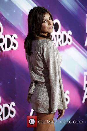 Daniella Monet Nickelodeon's 2012 TeenNick HALO Awards, held at the Hollywood Palladium - Arrivals Hollywood, California - 17.11.12