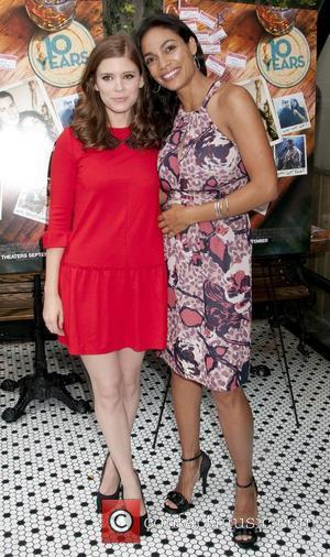 Kate Mara and Rosario Dawson