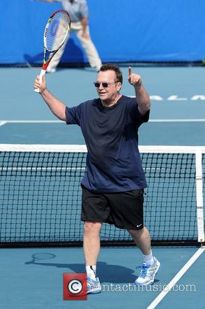 Tom Arnold  23rd Annual Chris Evert/Raymond James Pro-Celebrity Tennis Classic at Delray Beach Tennis Center Delray Beach, Florida -...