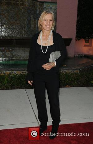 Martina Navratilova arrives at 23rd Annual Chris Evert/Raymond James Pro-Celebrity Tennis Classic Gala at Boca Raton Resort Florida, USA -...