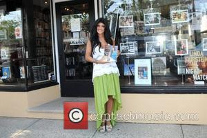 'The Real Housewives of New Jersey' star Teresa Giudice signed copies of her book Fabulicious: Fast & Fit at Books...