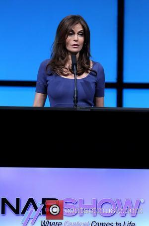 Teri Hatcher  2012 NAB Snow Opening Session: Featuring The Presentation of The NAB Distinguished Service Award to The E....