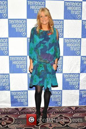 Gaby Roslin Terrence Higgins Trust: Friends for Life - charity dinner  held at the Park Lane Hotel London, England...
