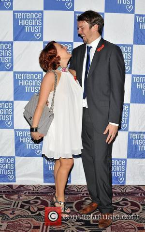 Sarah Cawood and Andy Merry Terrence Higgins Trust: Friends for Life - charity dinner  held at the Park Lane...