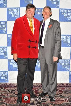 Stephen Fry and Sir Nick Partridge Terrence Higgins Trust: Friends for Life - charity dinner  held at the Park...
