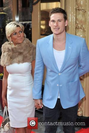 Lee Ryan and Guest Tesco Mum Of The Year Awards held at the Waldorf Hilton - Arrivals. London, England -...