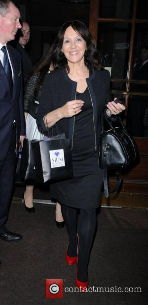 Arlene Phillips  Tesco Mum Of The Year Awards held at the Waldorf Hilton - Outside Departures London, England -...