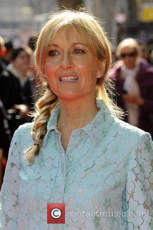 Fiona Phillips  Tesco Mum of the Year Awards held at the Waldorf Hilton - Outside Arrivals  London, England...