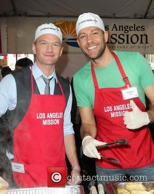 Neil Patrick Harris and Zachary Levi, LA Mission