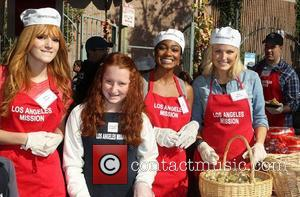 Bella Thorne, Emma Kenney, Tatyana Ali, Malin Akerman and Los Angeles Mission