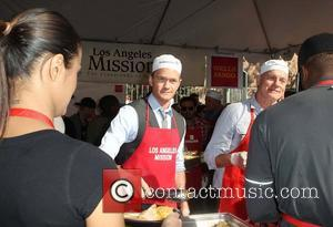 Neil Patrick Harris, Stephen Collins and Los Angeles Mission