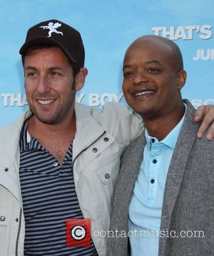 Adam Sandler, Todd Bridges Premiere of Columbia Pictures 'That's My Boy' Held at the Regency Village Theatre Los Angeles, California...