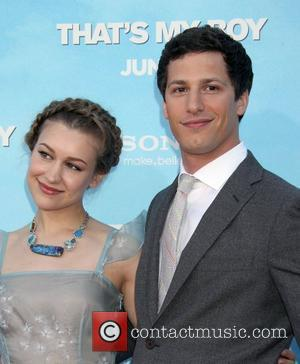 Joanna Newsom and Andy Samberg Premiere of Columbia Pictures 'That's My Boy' Held at the Regency Village Theatre Los Angeles,...