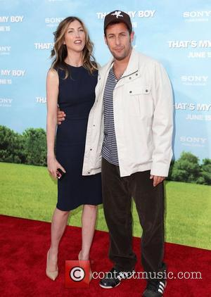 Jackie Titone and Adam Sandler