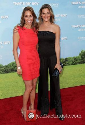Julia Wolov (L) and Dana Goodman Premiere Of Columbia Pictures' That's My Boy at Regency Village Theatre Westwood, California -...